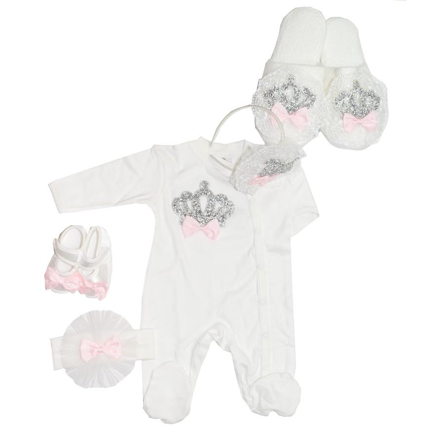 659340078d7 Σετ για μαμά και κόρη με κορώνες και ροζ φιόγκους – EXTANBEBE