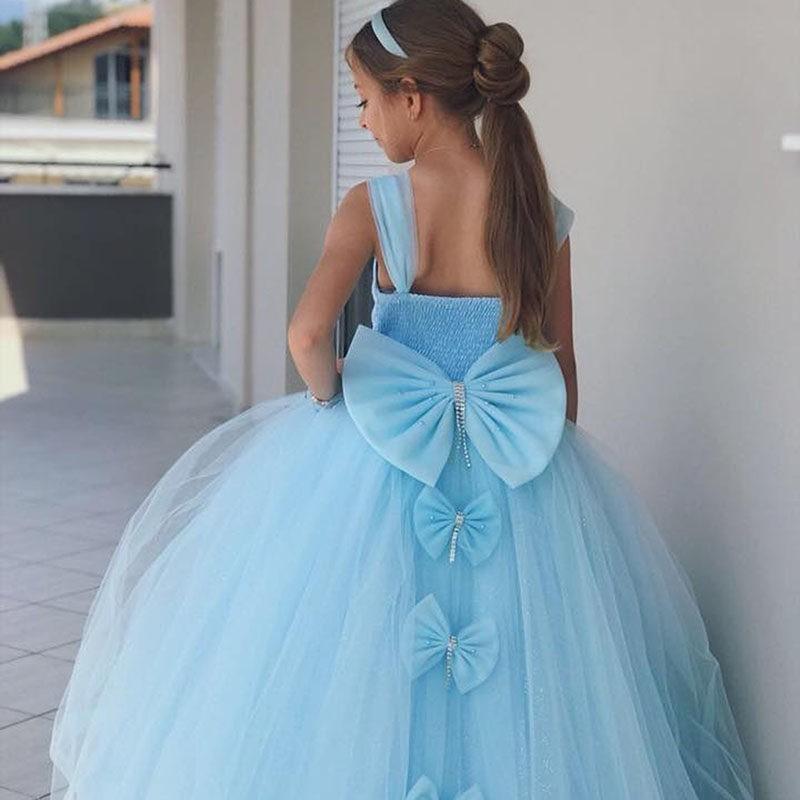 Φόρεμα γαλάζιο με φιόγκο στο πίσω μέρος 68d1d6bd55f