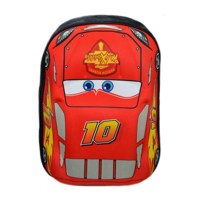 "33b7703d91 Τσάντα πλάτης νηπιαγωγείου κόκκινη ""CARS 10"" – EXTANBEBE"