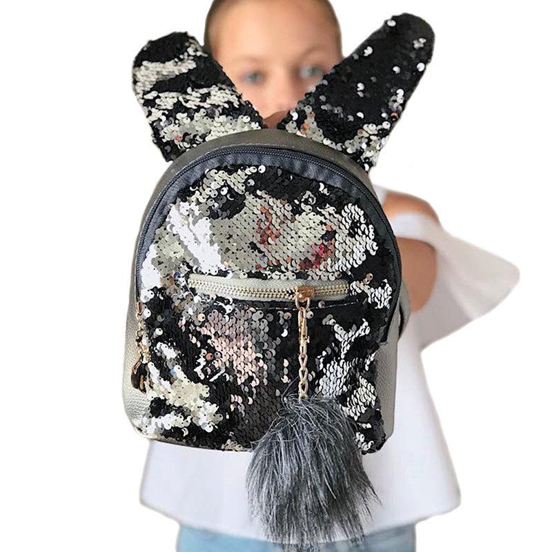 0ff96c1e4a Παιδική τσάντα πλάτης ασημί με παγιέτες που αλλάζουν – EXTANBEBE