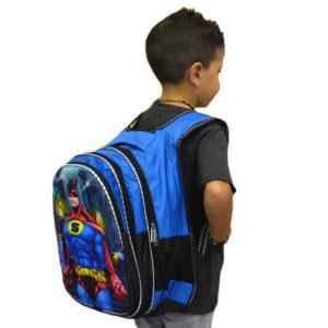 """21b7e736b72 Τσάντα σχολική μπλε """"S"""""""