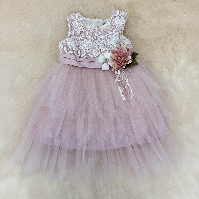 0edc7f12c61 Φόρεμα αμπιγιέ με τούλι μύτες σάπιο μήλο – EXTANBEBE