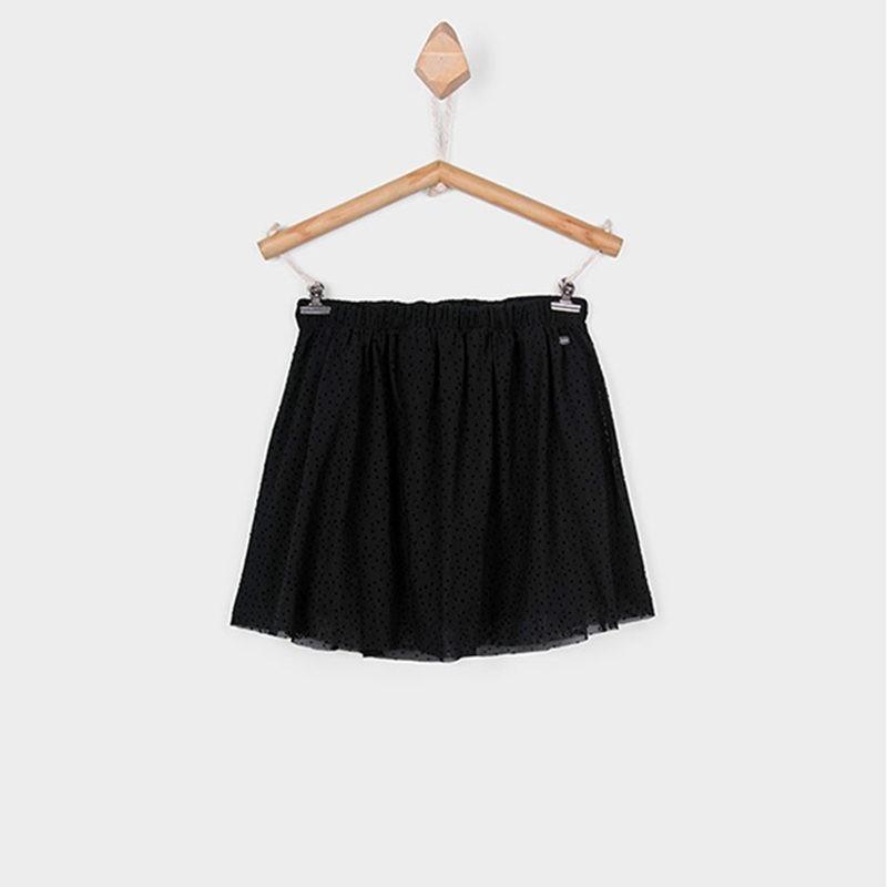 b86fccb1fd9 Φούστα τούλινη μαύρη με πουά λεπτομέρειες TIFFOSI – EXTANBEBE