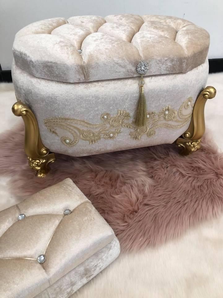 dad37009916 Κουτί βάπτισης πολυτελείας nude με κέντημα και πέρλες οβάλ – EXTANBEBE