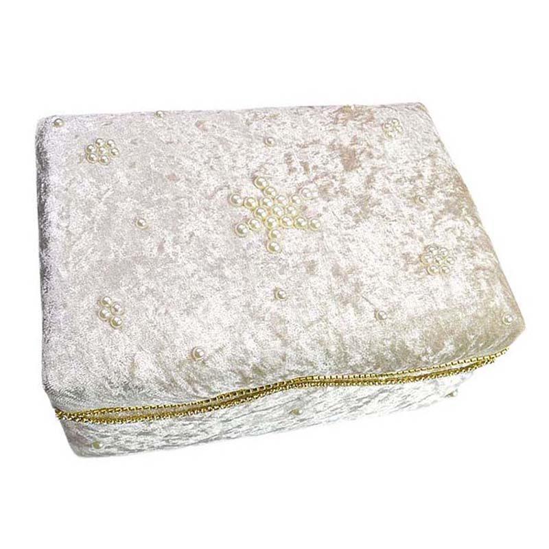 532295c7685 Κουτί πολυτελείας Nude με δαντέλα,πέρλες και στρας – EXTANBEBE