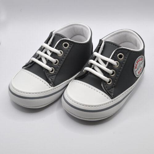 sneakers anthraki dermatinh SHOE081A